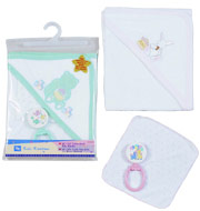 children bathing set, kids bath mittens
